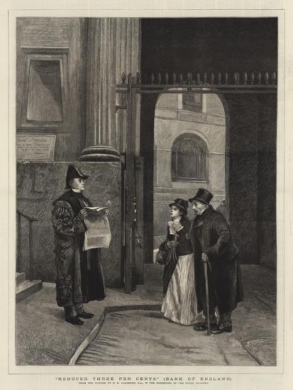 Reduced Three Per Cents, Bank of England-Philip Hermogenes Calderon-Giclee Print