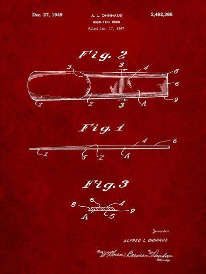 Reed Patent-Cole Borders-Art Print