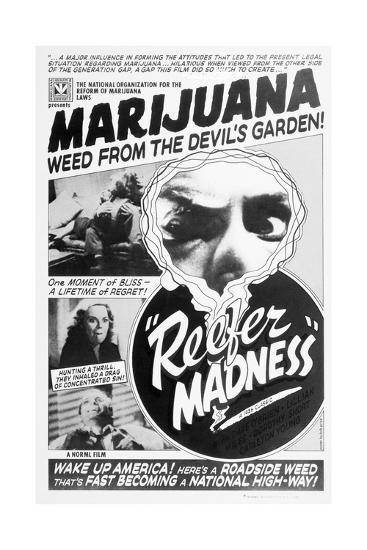 Reefer Madness Movie Poster--Giclee Print