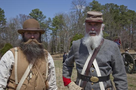 Reenactment Of Civil War Siege-Carol Highsmith-Art Print