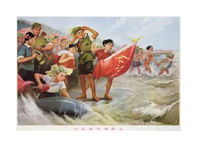 Refining the Revolutionary Spirit in Strong Wind and Waves--Giclee Print