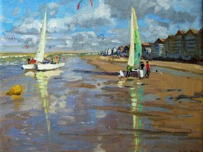 Reflection, Bray Dunes, France-Andrew Macara-Giclee Print