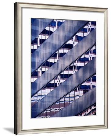 Reflection in Building Windows, Baltimore, USA-Richard I'Anson-Framed Photographic Print