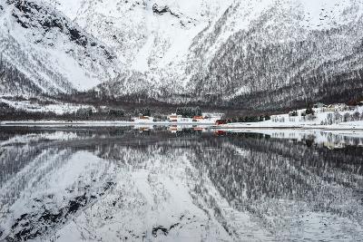 Reflection Lofoten-Philippe Sainte-Laudy-Photographic Print