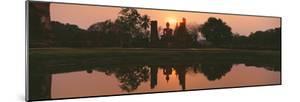 Reflection of Buddha Statue on Water, Sukhothai Historical Park, Sukhothai, Thailand