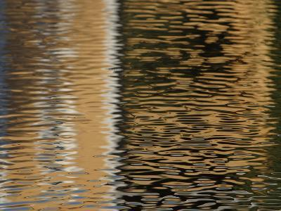 Reflection of Building in Water--Photographic Print