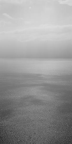 Reflection of Clouds on Water, Lake Geneva, Switzerland--Photographic Print