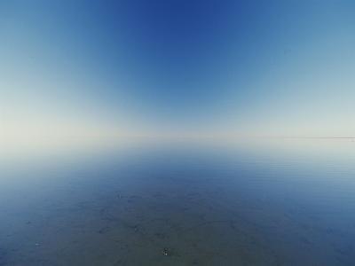 Reflection of Flooded Lake Eyre at Dawn-Jason Edwards-Photographic Print