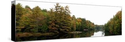 Reflection of Trees in the Musquash River, Muskoka, Ontario, Canada