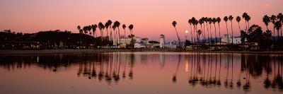 Reflection of Trees in Water, Santa Barbara, California, USA--Photographic Print