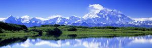 Reflection Pond, Mount Mckinley, Denali National Park, Alaska, USA