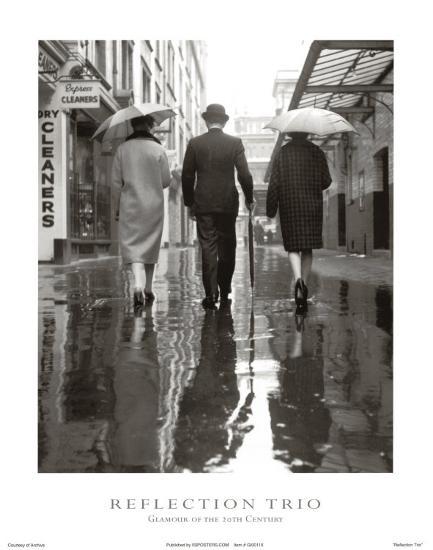 Reflection Trio--Art Print