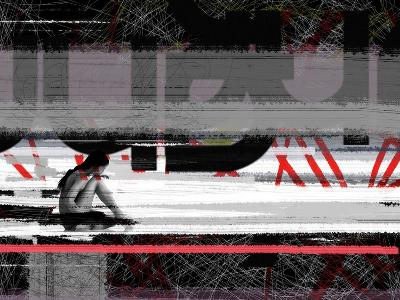 Reflection-NaxArt-Art Print