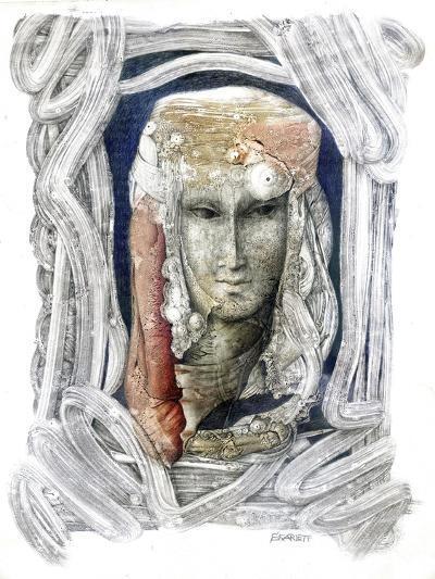 Reflection-Skarlett-Giclee Print