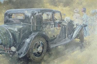 Reflections at Althorp, 1994--Giclee Print
