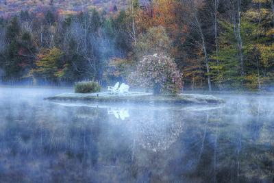 Reflections at Indian Head, New Hampshire-Vincent James-Photographic Print