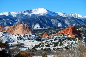 Pikes Peak, Colorado Springs by Reflections by Erika