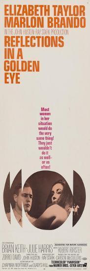 Reflections In a Golden Eye, 1967--Art Print
