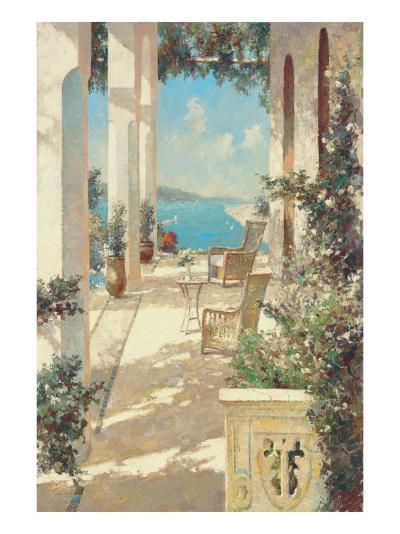 Reflections in Blue-Vitali Bondarenko-Premium Giclee Print