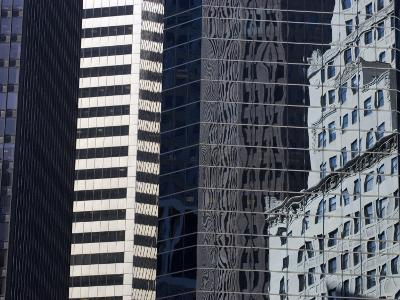 Reflections in Building Windows-Skip Brown-Photographic Print