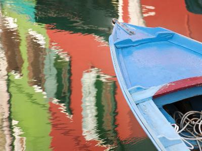 Reflections in Burano, Veneto Region, Italy-Nadia Isakova-Photographic Print