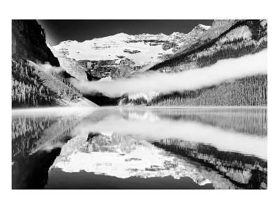 Reflections, Lake Louise, Banff, Alberta--Art Print