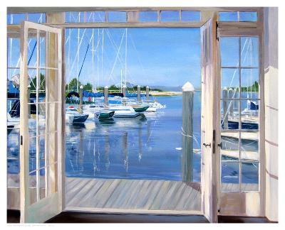Reflections, Marina Mill Creek-Carol Saxe-Art Print