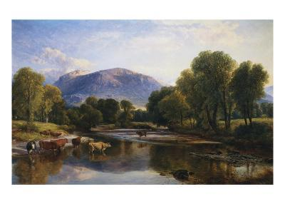 Reflections of a Highland Landscape, Scotland-Henry Brittan Willis-Giclee Print