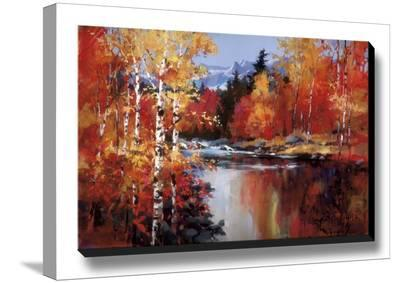 Reflections of Fall-Heighton Brent-Stretched Canvas Print