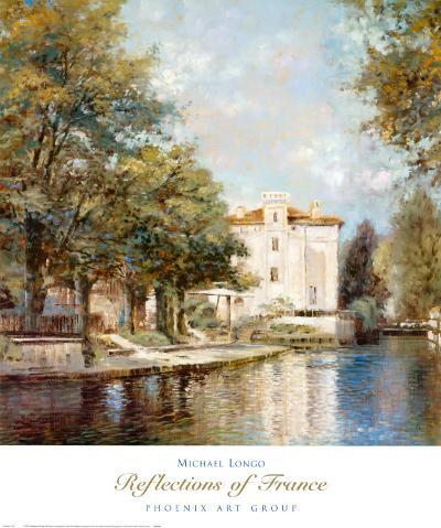 Reflections of France-Michael Longo-Art Print