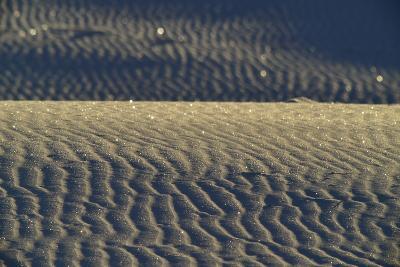 Reflections of Sunlight in Gypsum Sand Dunes-Raul Touzon-Photographic Print