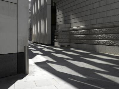Reflections on Pavement, City of London, London-Richard Bryant-Photographic Print