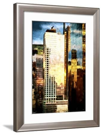 Reflections Sunset-Philippe Hugonnard-Framed Giclee Print