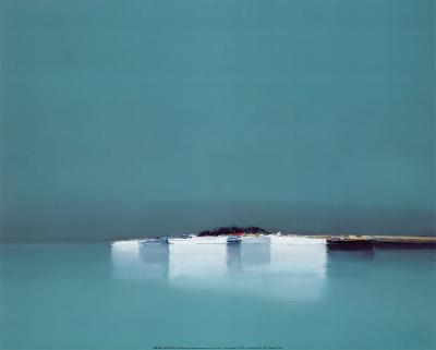 Reflets bleus-Pierre Doutreleau-Art Print