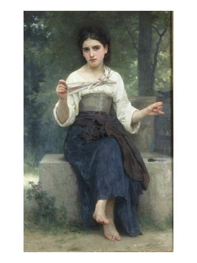 Reflexions, 1893-William Adolphe Bouguereau-Giclee Print