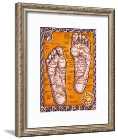 Reflexology-Robert Rosenthal-Framed Art Print
