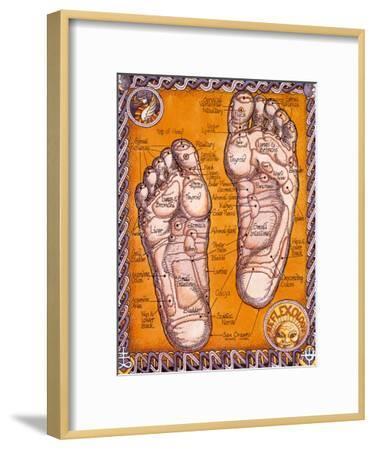 Reflexology-Robert Rosenthal-Framed Art Print