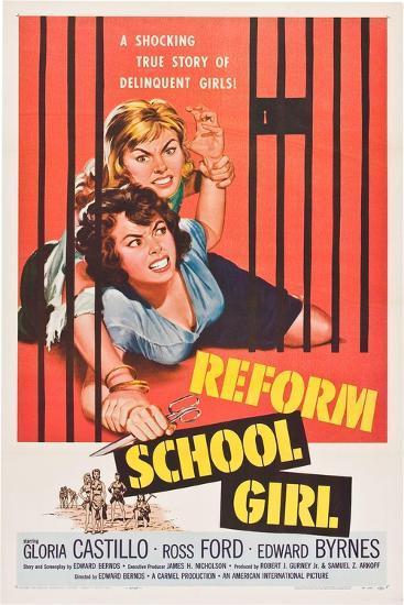 Reform School Girl--Art Print