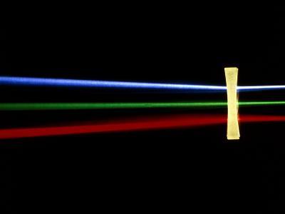Refraction of Light by Bi-concave Lens-David Parker-Photographic Print