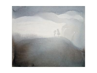 Refreshing World, Two Trees-Yunlan He-Giclee Print