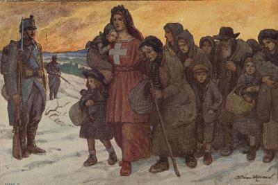Refugees--Giclee Print
