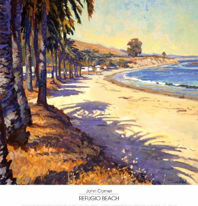 Refugio Beach-John Comer-Art Print