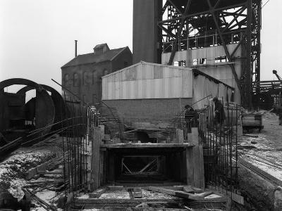 Refurbishment Work, Mosley Common Colliery, Lancashire, 1963-Michael Walters-Photographic Print