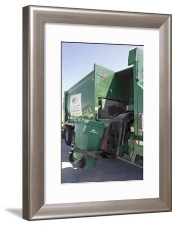 Refuse Collection-Mark Williamson-Framed Photographic Print