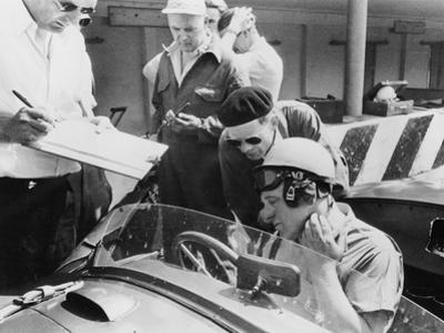 Reg Parnell in Aston Martin DB3S, Monza, 1952