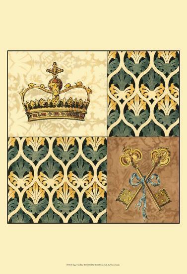 Regal Heraldry II--Art Print