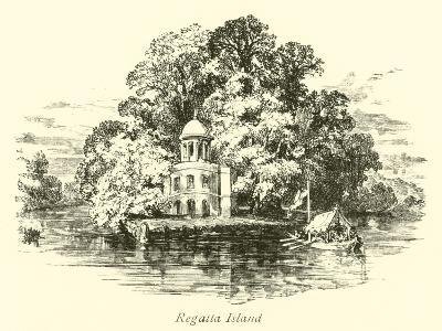 Regatta Island--Giclee Print