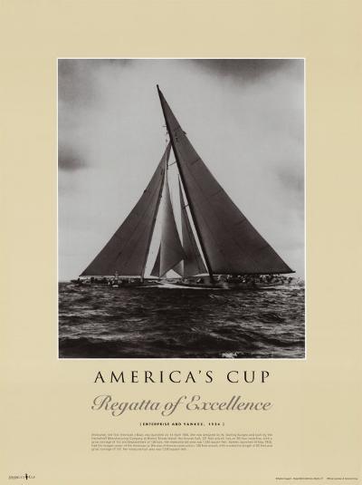 Regatta of Excellence/Enterprise & Yanke--Art Print