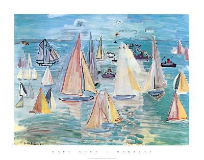 Regatta-Raoul Dufy-Art Print