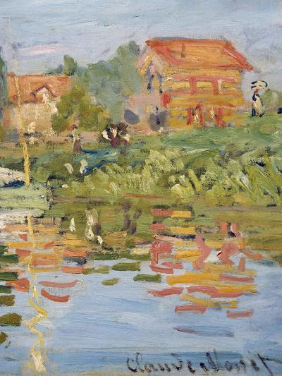 Regattas at Argenteuil, C.1872 (Detail)-Claude Monet-Giclee Print